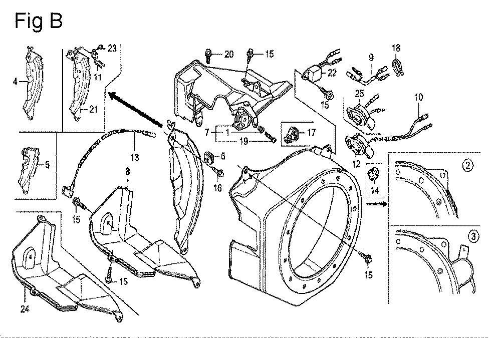 GX200-(QXC9-Seri-19-8999999)-Honda-PB-2Break Down