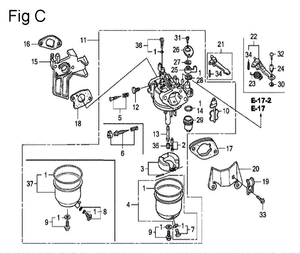 GX200-(QXC9-Seri-19-8999999)-Honda-PB-3Break Down