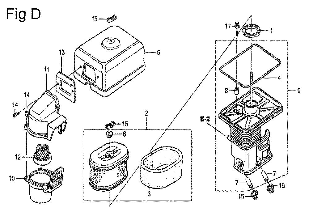 GX200-(QXC9-Seri-19-8999999)-Honda-PB-4Break Down