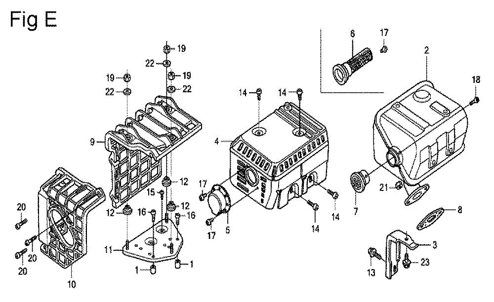 GX200-(QXC9-Seri-19-8999999)-Honda-PB-5Break Down