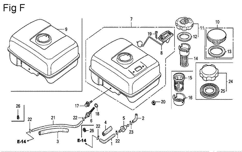 GX200-(QXC9-Seri-19-8999999)-Honda-PB-6Break Down