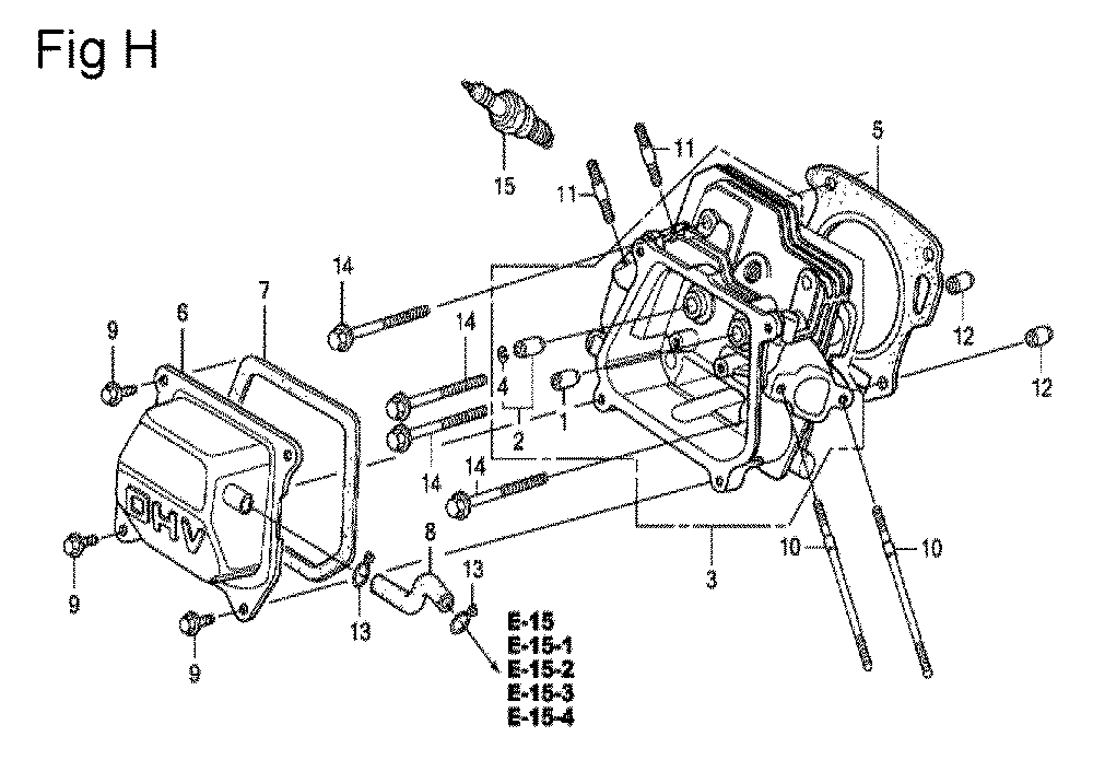 GX200-(QXC9-Seri-19-8999999)-Honda-PB-8Break Down