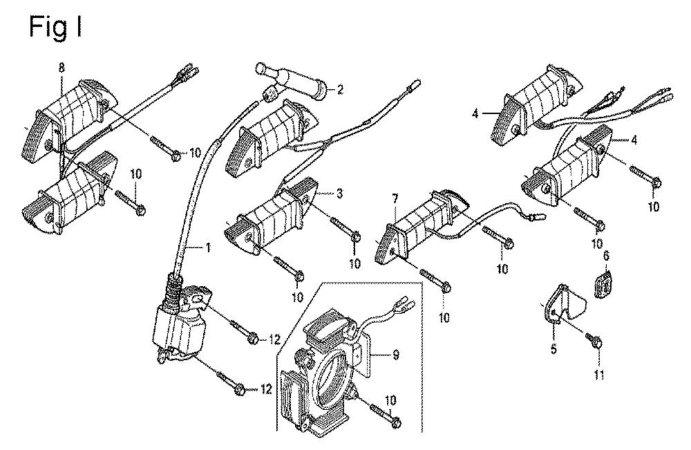 GX200-(QXC9-Seri-19-8999999)-Honda-PB-9Break Down