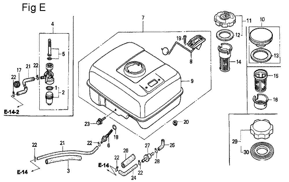 GX200-TVGG2-Honda-PB-5Break Down