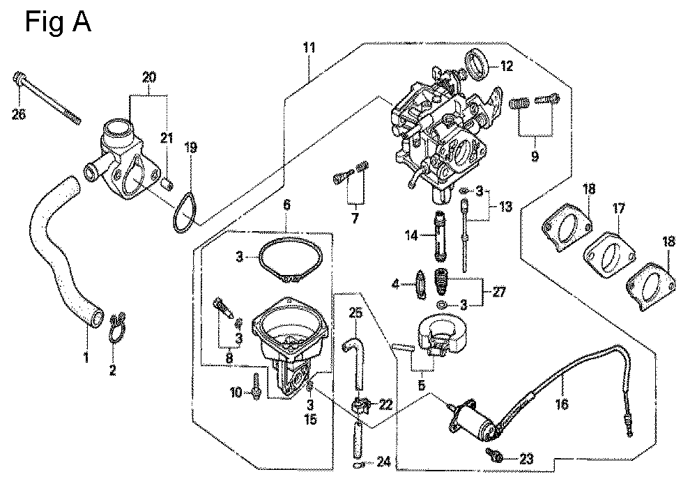 Gx270 Honda Ohv Engine Diagram