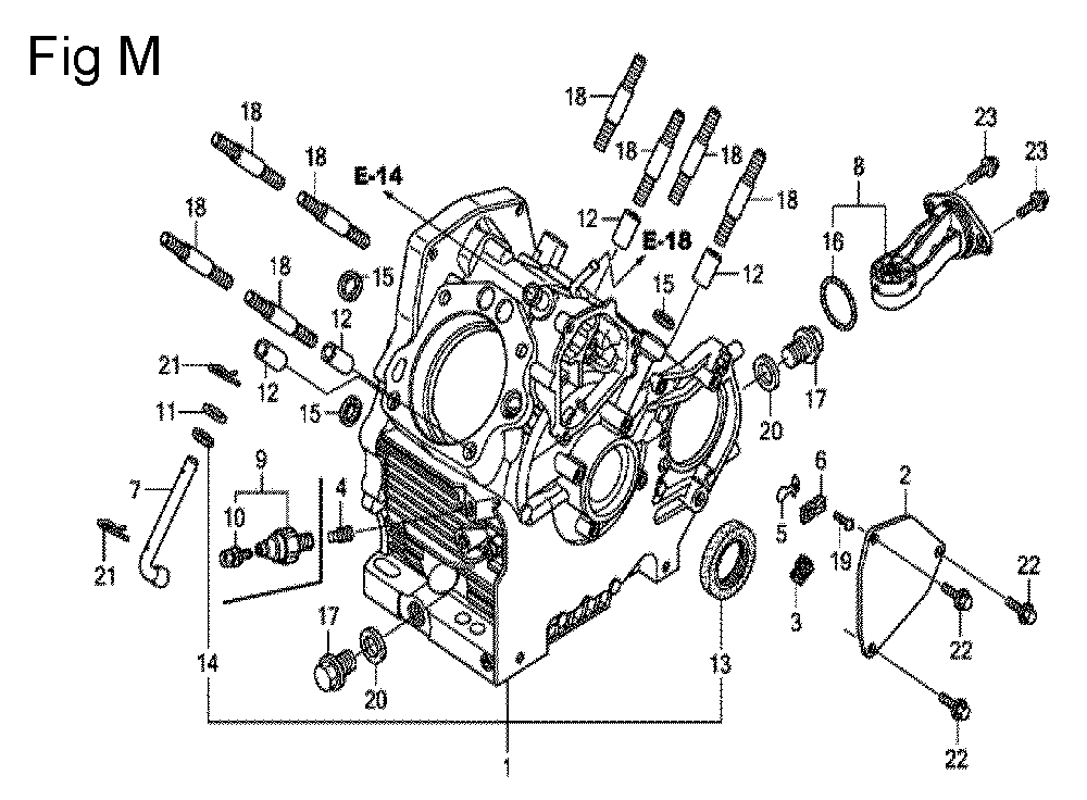 GX630R-TQZF8-Honda-PB-13Break Down