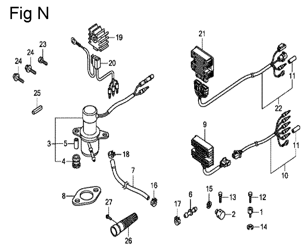 GX630R-TQZF8-Honda-PB-14Break Down