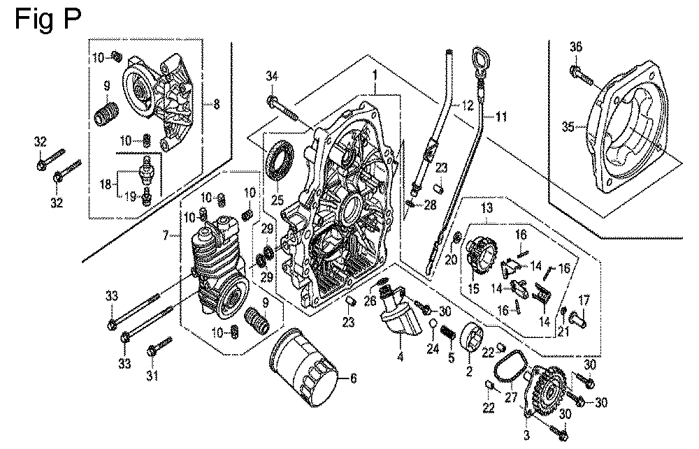 GX630R-TQZF8-Honda-PB-16Break Down