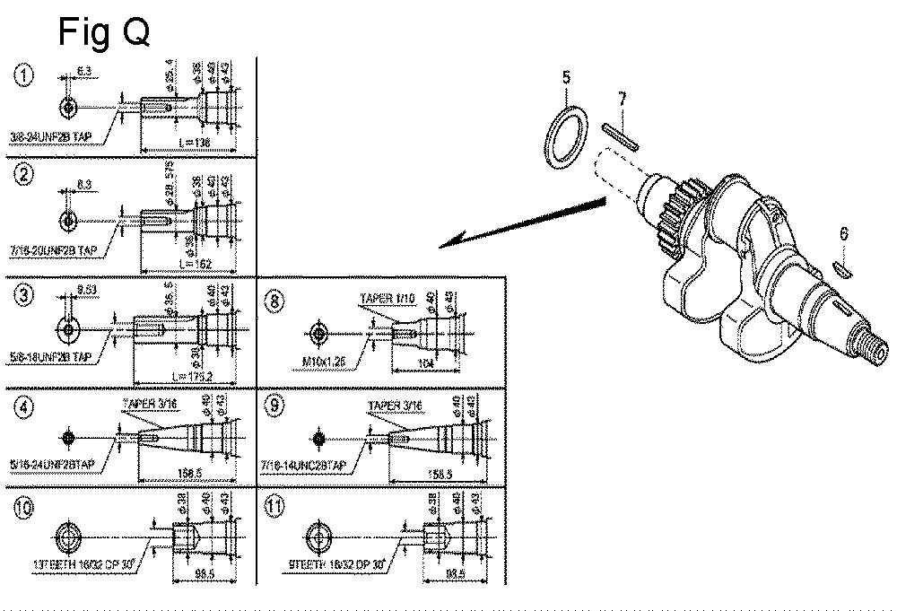 GX630R-TQZF8-Honda-PB-17Break Down