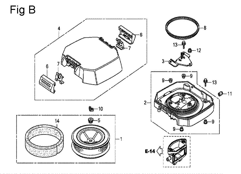 GX630R-TQZF8-Honda-PB-2Break Down