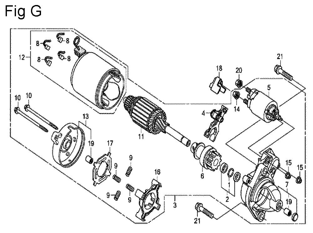 GX630R-TQZF8-Honda-PB-7Break Down