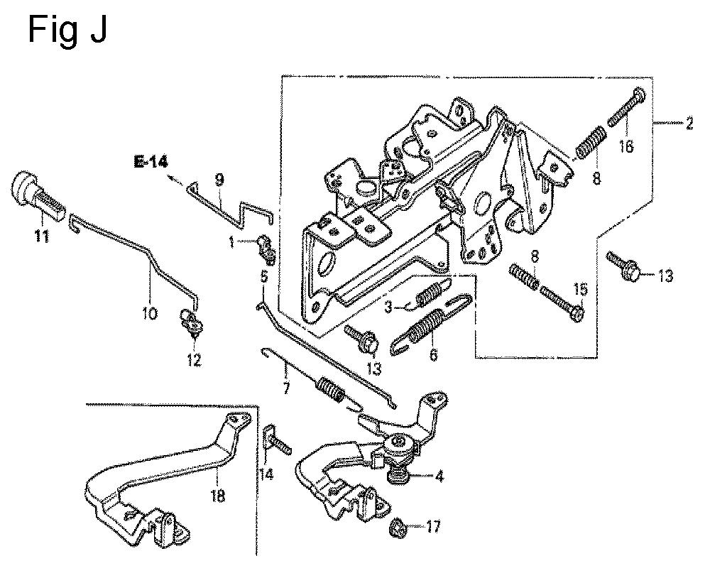 GX670-TVXE2A-Honda-PB-10Break Down