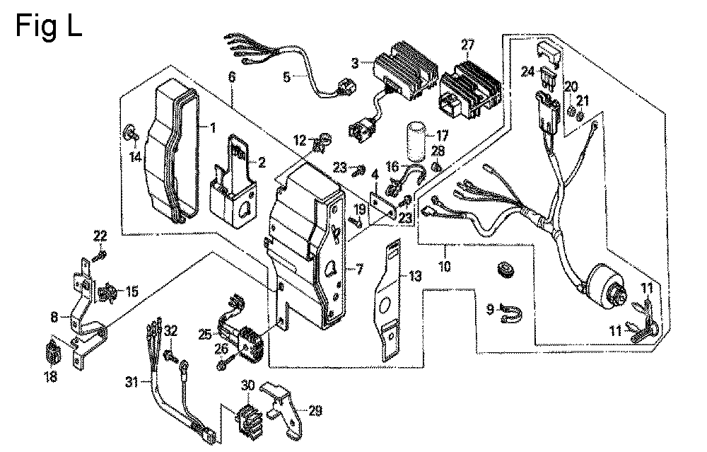 GX670-TVXE2A-Honda-PB-12Break Down