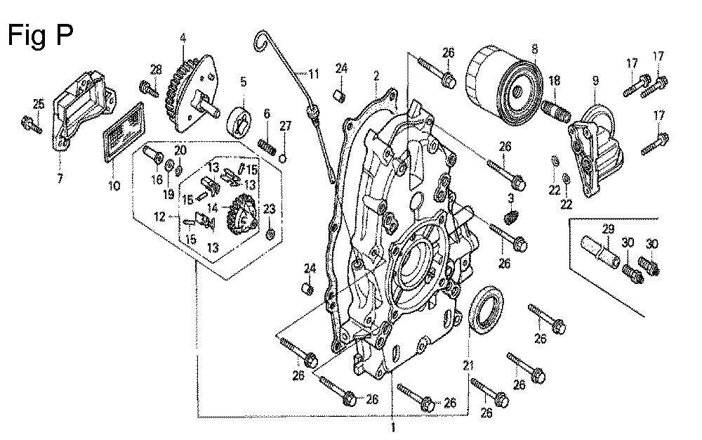 GX670-TVXE2A-Honda-PB-16Break Down