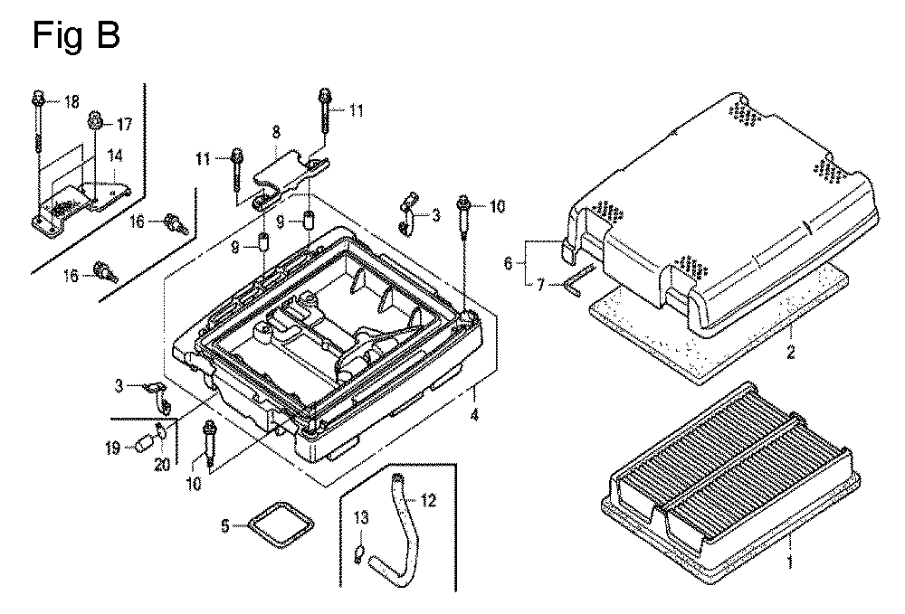 GX670-TVXE2A-Honda-PB-2Break Down