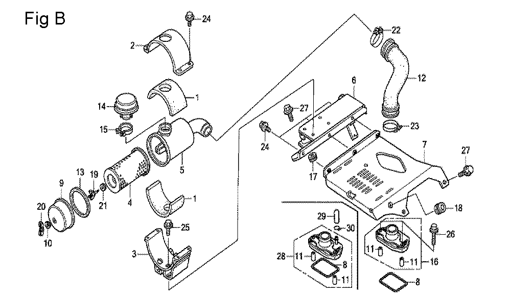 GX670U-TTXA2-Honda-PB-2Break Down