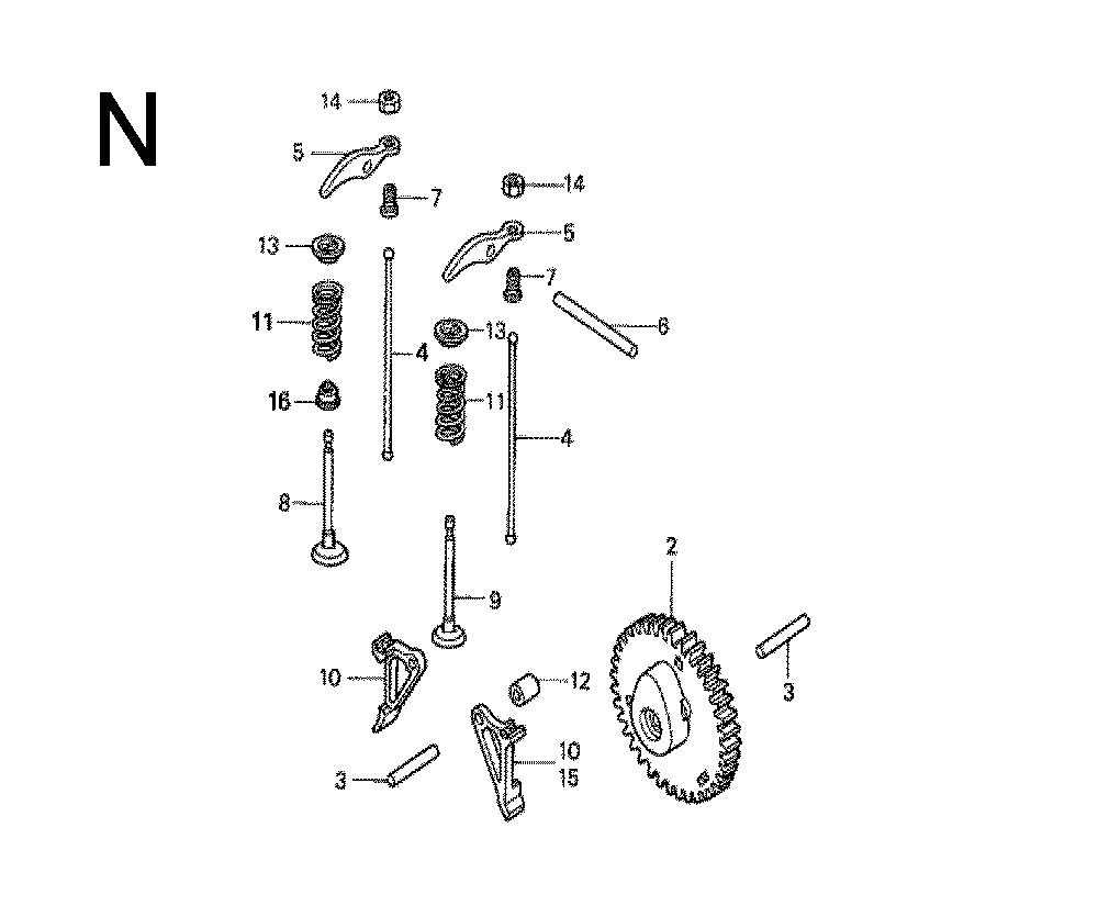 Honda Gxh50 Governor Linkage Diagram Buy Type Sxaa Vin Gcal Replacement 1000x825