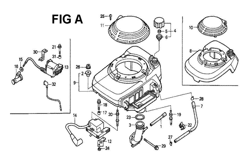 GXV140-TA1K6-Honda-PB-1Break Down