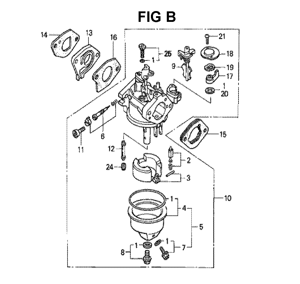GXV140-TA1K6-Honda-PB-2Break Down