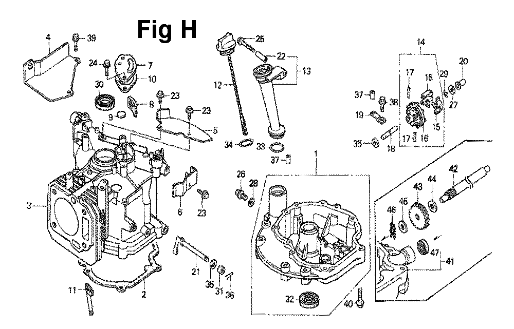 GXV140-TMAD-Honda-PB-8Break Down