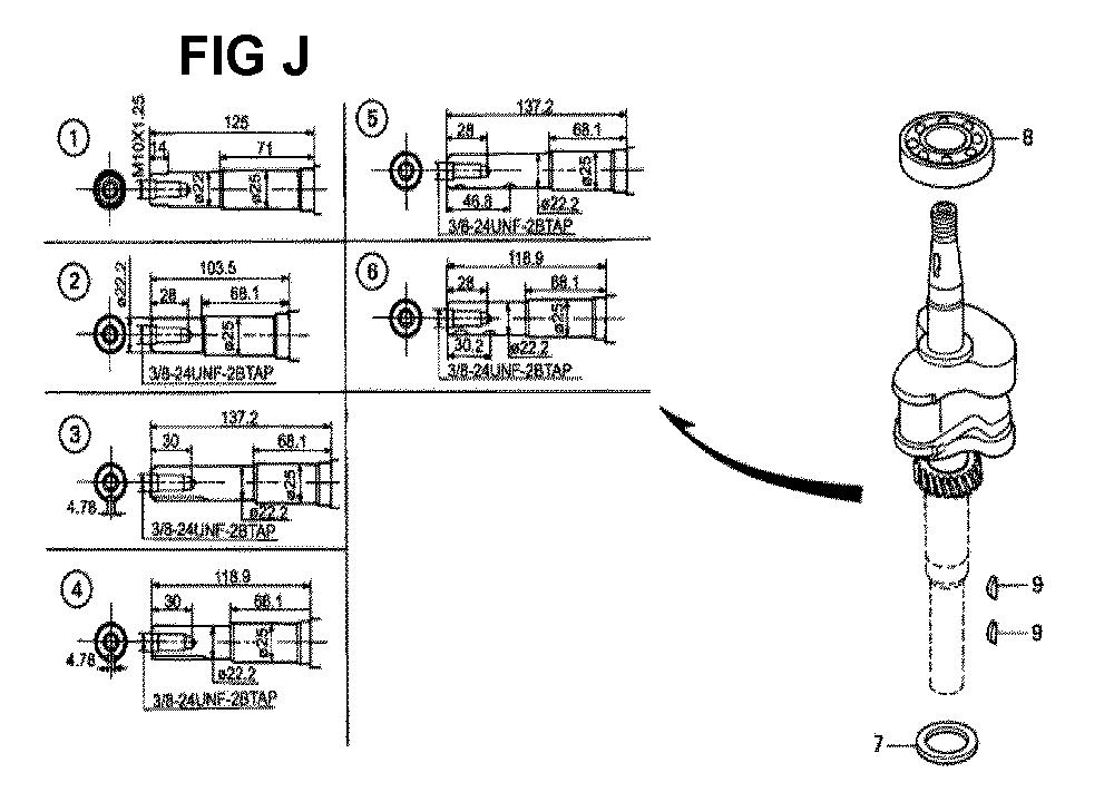 GXV140-TMAH-Honda-PB-10Break Down