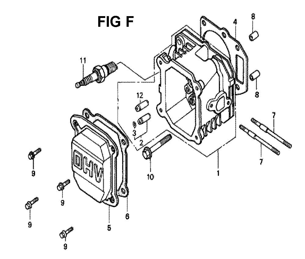 GXV140-TMAH-Honda-PB-6Break Down
