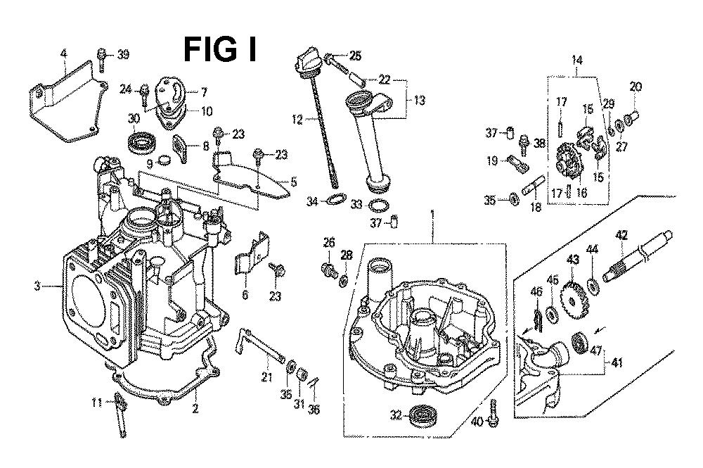 GXV140-TMAH-Honda-PB-9Break Down