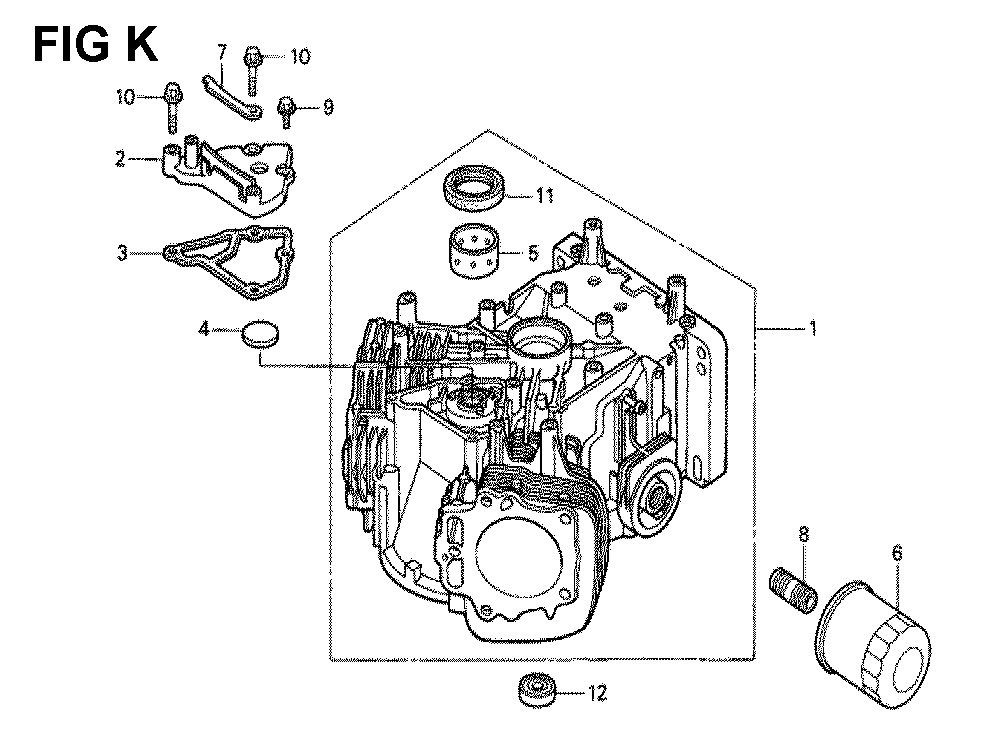 GXV620-TQYF4-Honda-PB-11Break Down