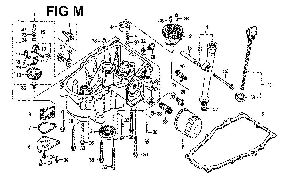 GXV620K1-TQAFA-Honda-PB-13Break Down