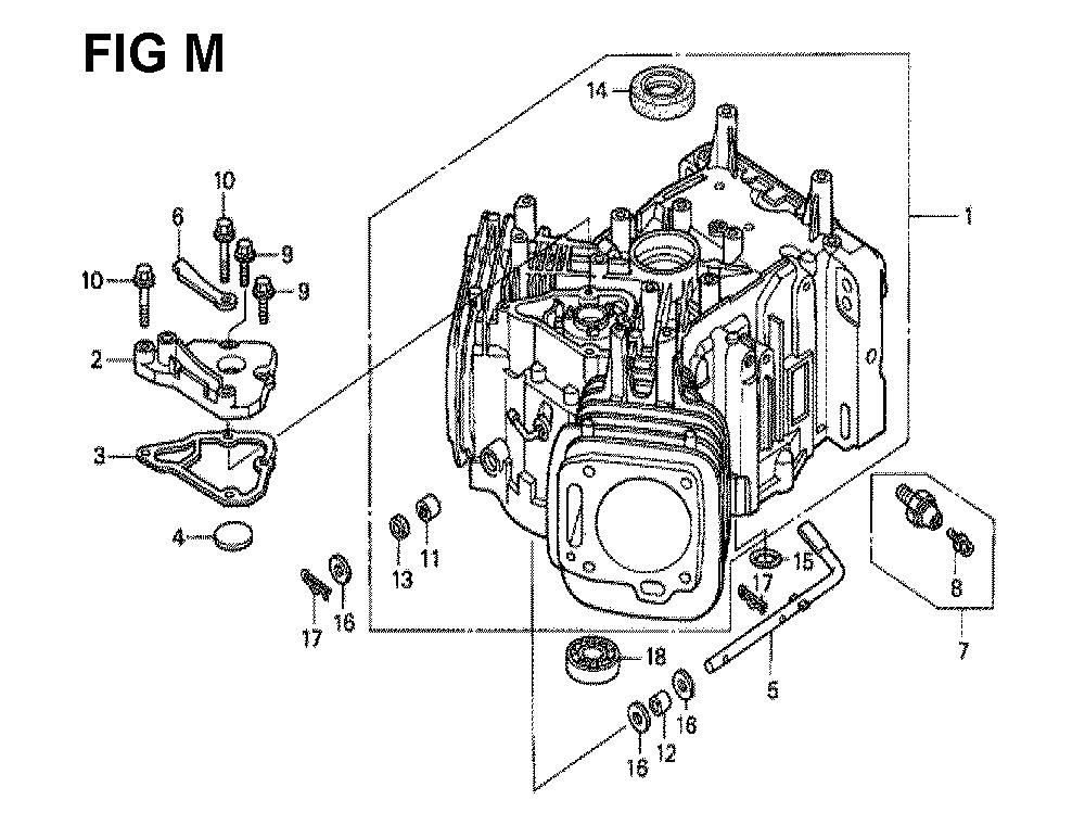 GXV620K1-TQWA-Honda-PB-13Break Down