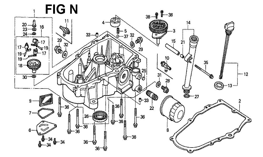 GXV620K1-TQWA-Honda-PB-14Break Down