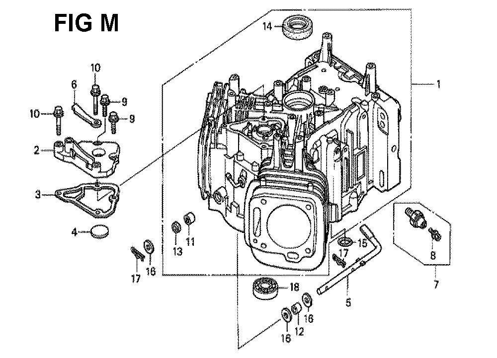 GXV620K1-TQWA6-Honda-PB-13Break Down