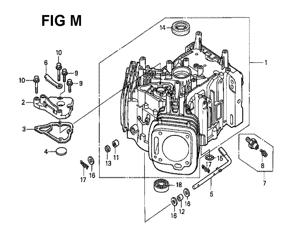 GXV620K1-TQWA6A-Honda-PB-13Break Down