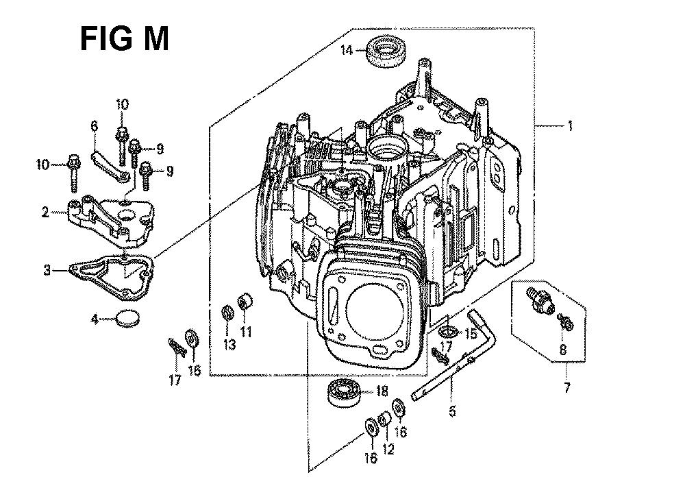 GXV620K1-TQWAA-Honda-PB-13Break Down
