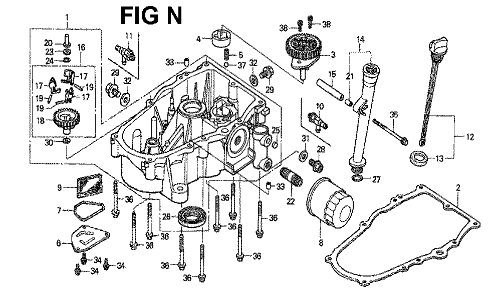 GXV620K1-TQWAA-Honda-PB-14Break Down