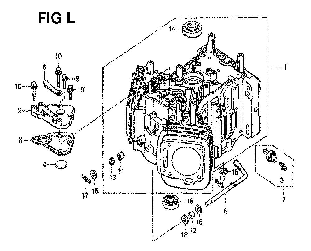 GXV620K1-TQYF-Honda-PB-12Break Down