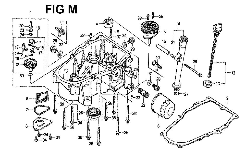 GXV620K1-TQYF-Honda-PB-13Break Down