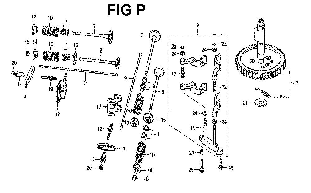 GXV620K1-TQYF-Honda-PB-16Break Down