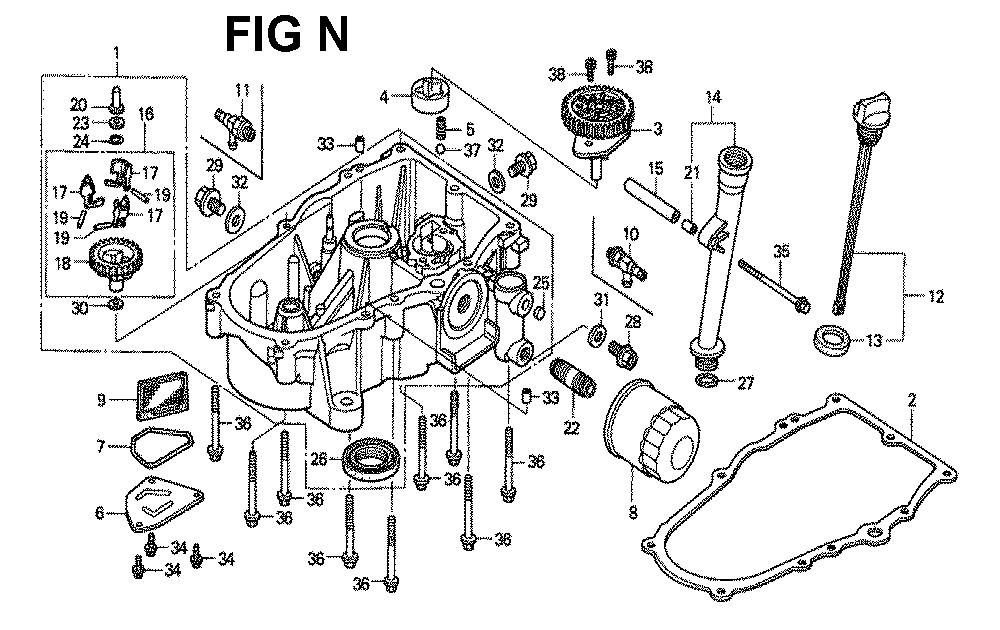 GXV620K1-TTAE2A-Honda-PB-14Break Down