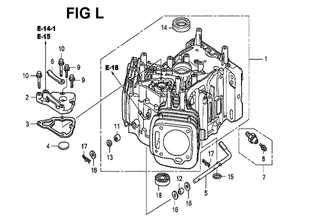 GXV620R1-TQYF-Honda-PB-12Break Down