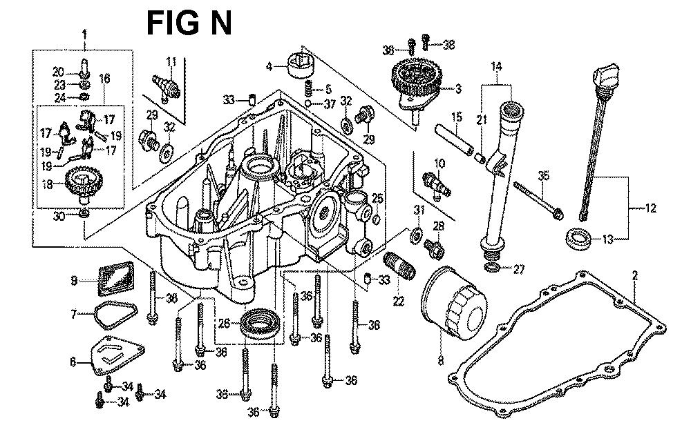 GXV620R1-TQYF-Honda-PB-14Break Down