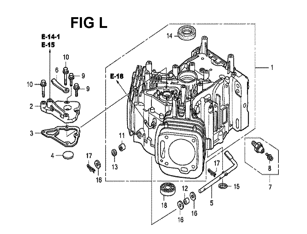 GXV620R1-TQYF4-Honda-PB-12Break Down