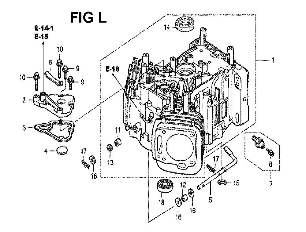 GXV620U1-TQYF4-Honda-PB-12Break Down