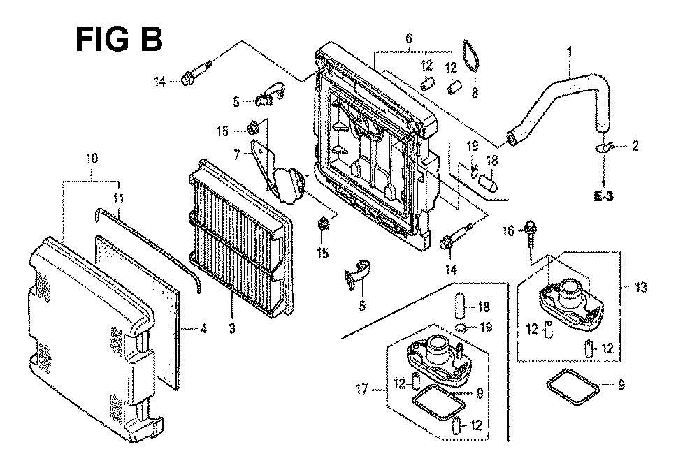 GXV620U1-TQYF4-Honda-PB-2Break Down