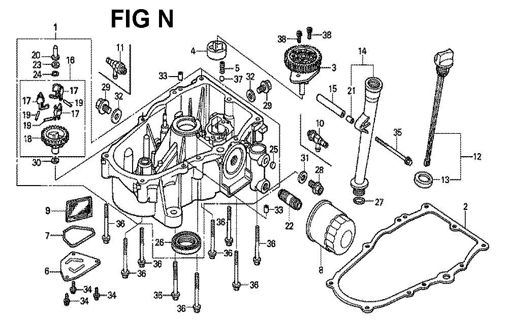 GXV620U1-TTAE2-Honda-PB-14Break Down
