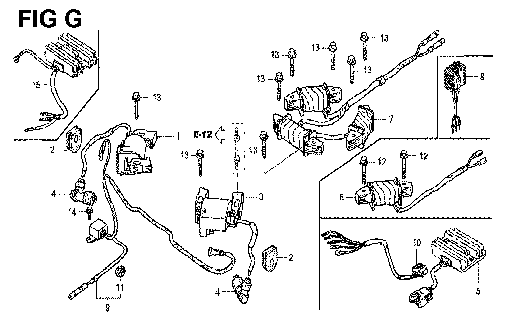 GXV620U1-TTAE2-Honda-PB-7Break Down