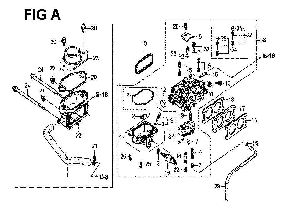 GXV630R-TQAF-Honda-PB-1Break Down