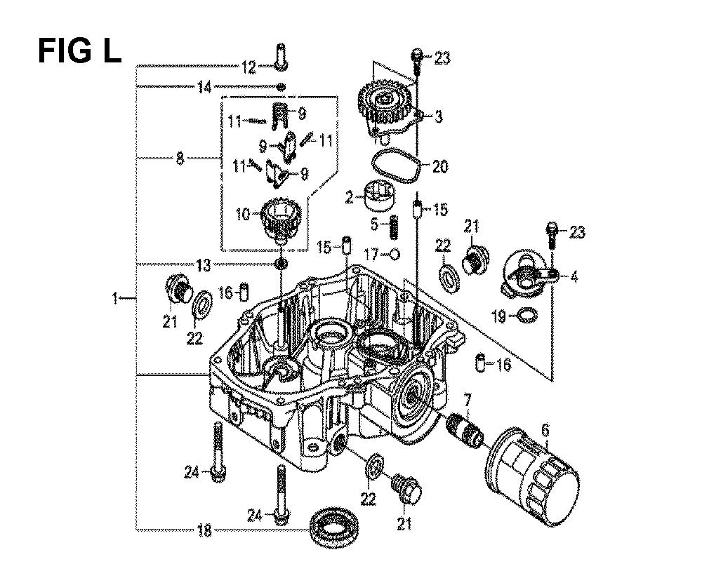 GXV630R-TQAF-Honda-PB-12Break Down