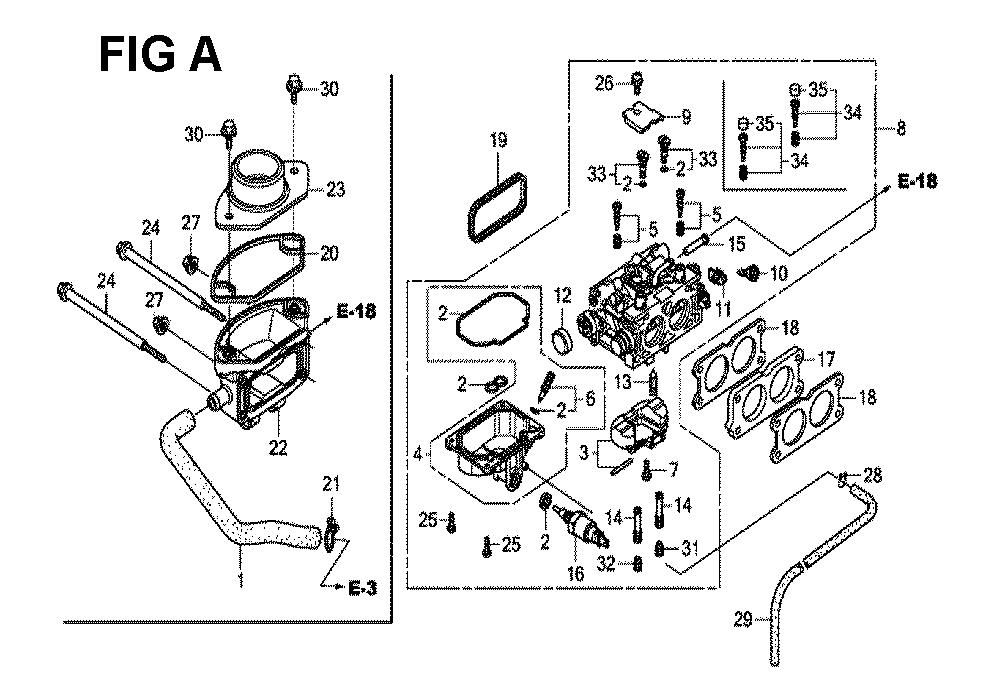 GXV630R-TQYF2-Honda-PB-1Break Down