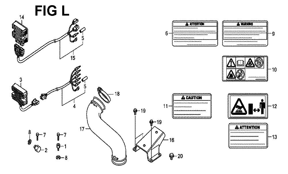GXV630R-TQYF2-Honda-PB-12Break Down